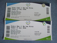 Simply Red Cardiff SWALEC 17th July - 2 Tickets