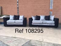 HIGH QUALITY Bella 3x2 crushed velvet sofas