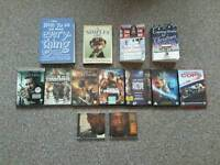 Dvd, Cd, Book bundle £10 the lot 7 dvds 2 cds 4 books