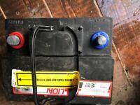 Car battery 063 40ah 340 cca