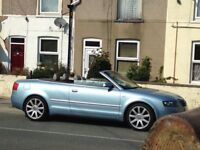 1st £1500 buys it low mileage Audi A4 convertible 1.8t sport