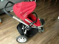 Quinny buzz stroller, pram and car seat