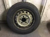 Sprinter/VW LT wheel and tyre 195/70 R15