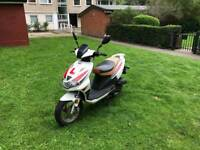 2015 moped scooter bike