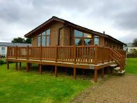 Luxury static caravan lodge for sale isle of wight, site fees until 2018, sea views 12 month season