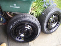 175 X 65 X 14 BRIDGESTONE TYRES , 2 MATCHING BRAND NEW TYRES,COLOURED BANDS STILL ON THEM,NEVER USED