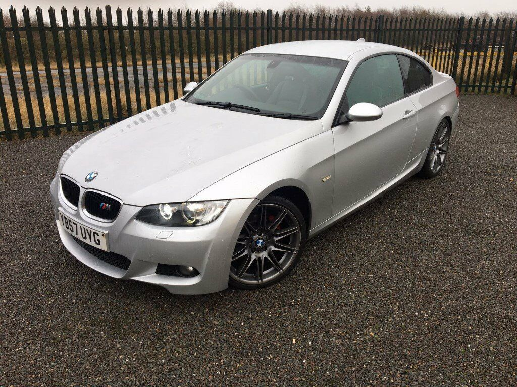 2008 57 bmw 320d m sport coupe 6 speed diesel full m o t history stunning example in. Black Bedroom Furniture Sets. Home Design Ideas