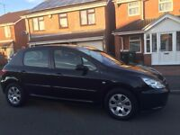 Peugeot 307 1.6 Genuine Low Mileage 2 Owner From New Service History up to 43000