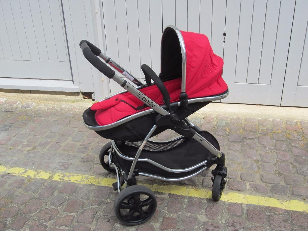 Icandy Strawberry Carrycot Icandy Strawberry Pushchair