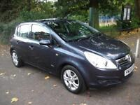 VAUXHALL CORSA 1.2i Breeze Plus 1 OWNER + FULL SERVICE HISTORY + CALL 01162149247 (blue) 2008