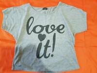 Summer Women's short T-shirt size M