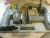 Power master drill sander and jigsaw