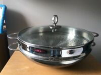 Shabu shabu hot pot (15 inches). Japanese cooking pot