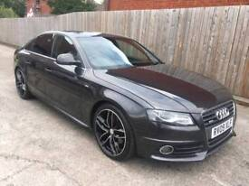 2009 AUDI A4 2.0 TDI S LINE 170 GREY 104,000 MILES IMMACULATE