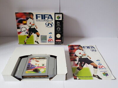 Fifa Road to World Cup 98 N64 Complete Good Con
