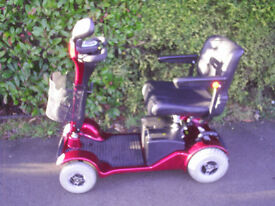 STERLING SAPPHIRE mobility scooter, 23.4 stone