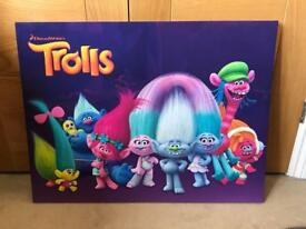 Large Trolls Canvas