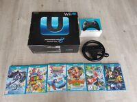 Wii U Mario Kart premium pack & 6 games