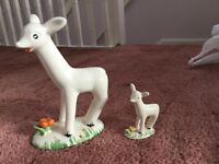 vintage Pair of Larry the Lamb ornaments