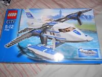 LEGO model 7723 Police Airplane/Mega Blok Halo Wars UNSC Scorpion