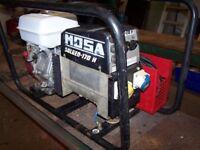 Mosa engine driven weling plant . Solgen- 170-H