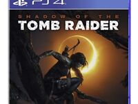 New sealed limited edition tomb raider shadow of time PS4 £45