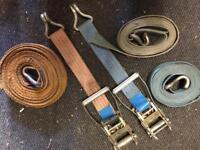 Large heavy duty ratchet straps