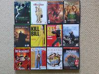 £1.00 each - 33 DVDs of Modern Films - Bond, Kill Bill, Jackass, Donnie Darko, Gladiator etc