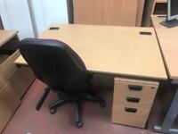 1200mm x 800mm Budget Straight Desk