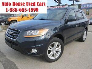 2010 Hyundai Santa Fe Limited 3.5 w/Navigation ,Leather,AWD,sunr