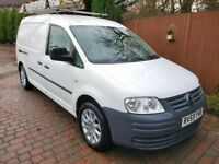 2009 Vw Caddy Maxi 1.9 TDI C20,S/H, Years MOT, A/C Electric windows,extras, well maintained