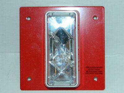 Est Edwards Cs405-8a-t Fire Alarm Strobe Red 24v