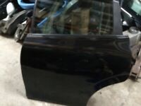 Seat Leon mk2 n/s rear door black