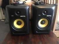 Krk rokit 6 g3 studio monitor speakers