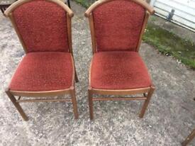 Restaurant chairs x2
