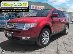 2010 Ford Edge SEL. *One owner. No accidents. Pano SunRoof*