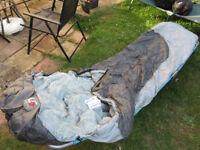Mummy style sleeping bags