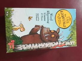 Gruffalo Word Rhyming Game, Superb condition, £1.50