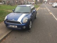 FOR SALE - Mini Cooper with Chilli Pack, 64,252 miles, Half Leather, 3 Door &a Mood Lighting
