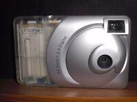 JENOPTIK 3 in 1 JD - C160 DIGITAL CAMERA -NEW- NEVER USED - F4.5mm 1 : 2.8 DIGc/w CASE & MANUAL