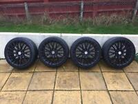 """VW Golf 18"""" Alloys - Bolt Pattern 5x100 With Tyres"""