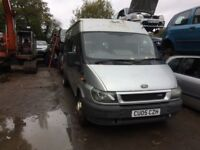 2005 Ford Transit Mini Bus 6 Speed Gearbox Diesel 2.4L Silver BREAKING FOR SPARES