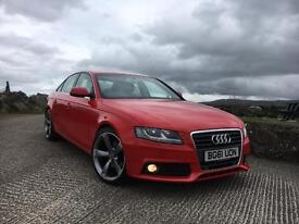 2011 Audi A4 2.0 Tdi Technik Only 50k Miles. Finance Available