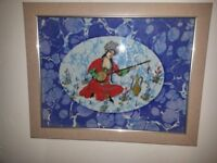 Turkish tiled picture