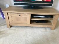 Next Stanton range wooden TV stand