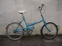 Classic Shopper Bike by Raleigh, Turquoise, 20 inch , All Original !!, JUST SERVICED/ CHEAP PRICE!!