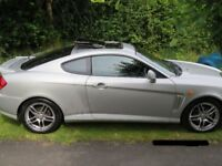 2002 Hyundai Coupe SE 2.0 petrol engine, Mileage - 102,844K