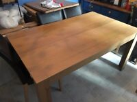 Wood Dining Table - COLLECTION ONLY