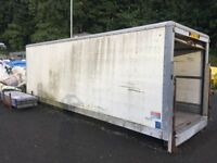 Lorry Back Storage Container
