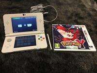 Nintendo 3DS with Pokemon Y